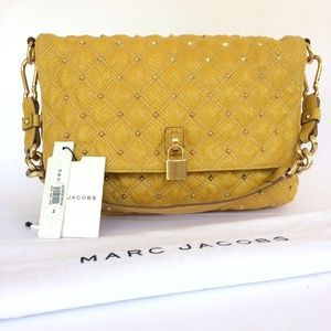 Marc Jacobs Yellow Stardust Beat Bag